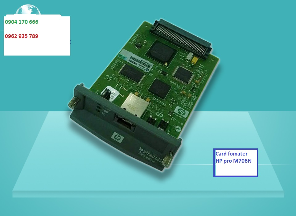 card fomater hp pro 706N