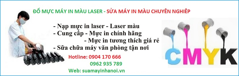 do muc may in mau laser